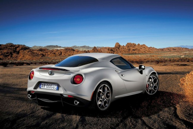 Фото Alfa Romeo 4C Launch Edition