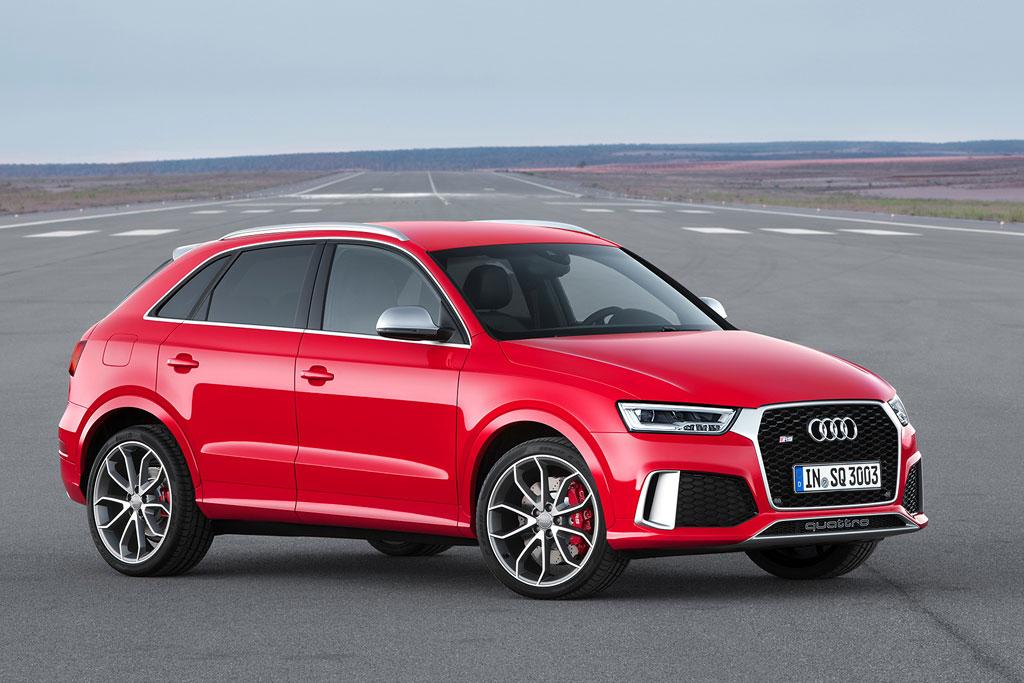 Обновленный Audi RS Q3 2015