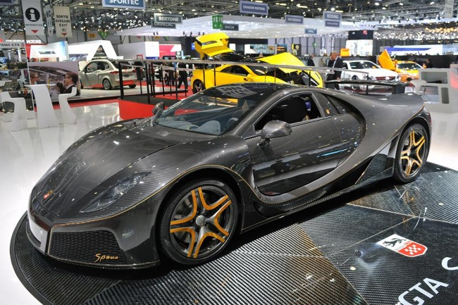 Суперкар GTA Spano