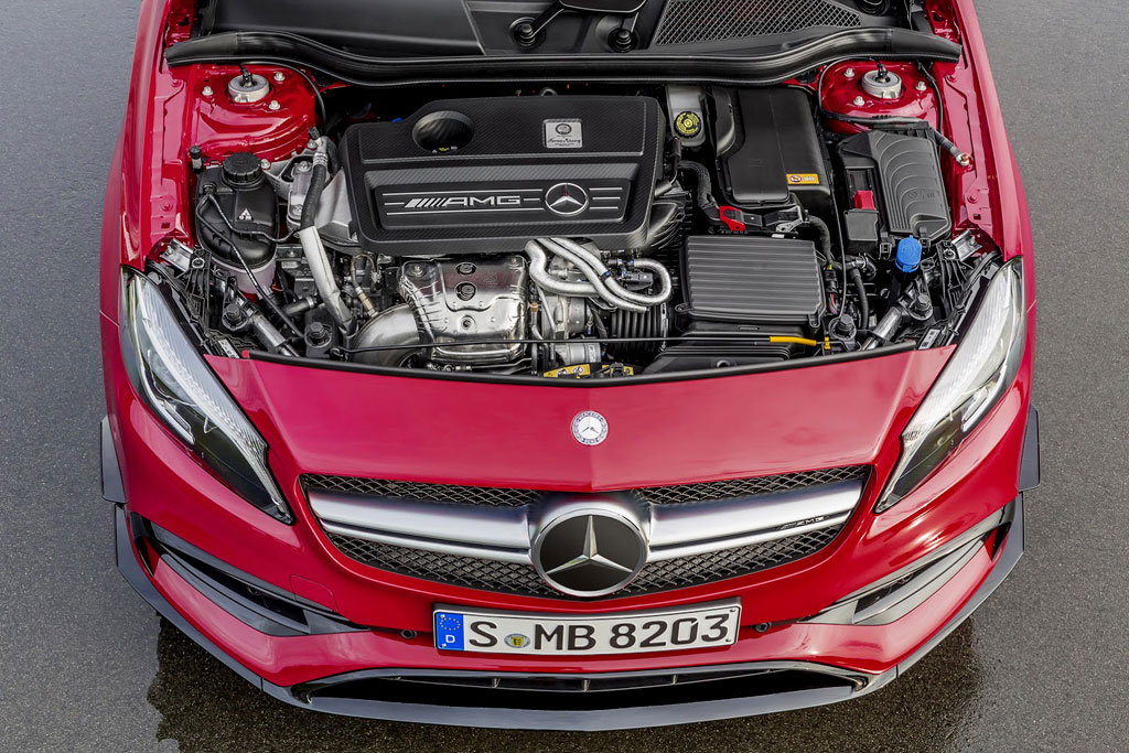 Двигатель A45 AMG фото