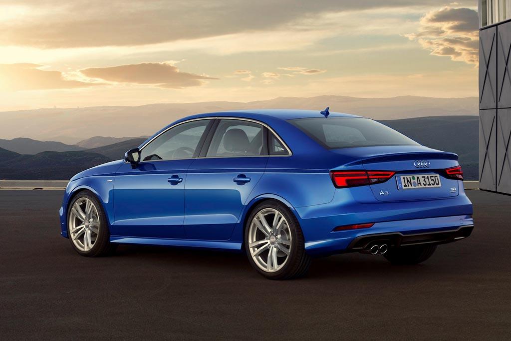 Новая Audi A3 2019 седан