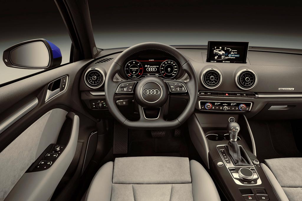 Салон Audi A3 седан (8V)
