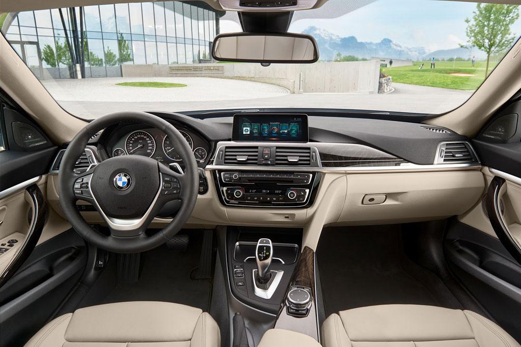 Салон BMW 3-Series Gran Turismo