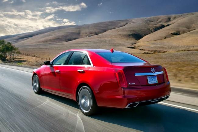 Фото Cadillac CTS 3 2014
