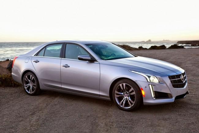 Новый Cadillac CTS 3