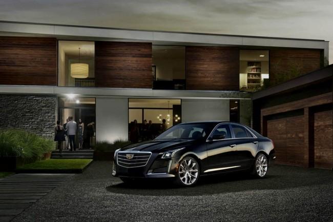Обновленный Cadillac CTS 2015