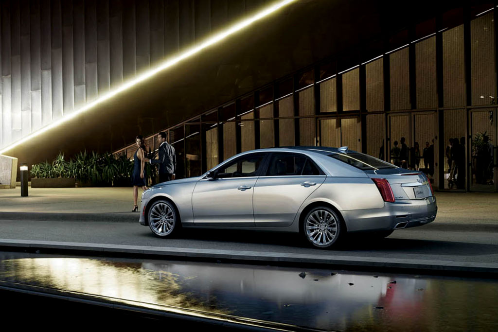 Новый Cadillac CTS 2016 фото