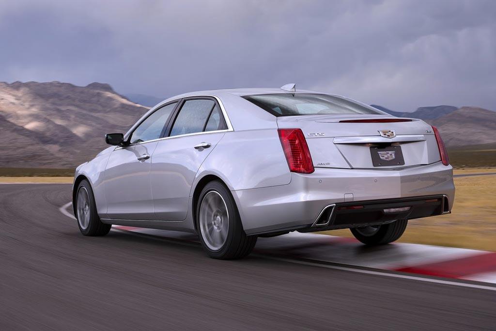 Фото Cadillac CTS 2017 года