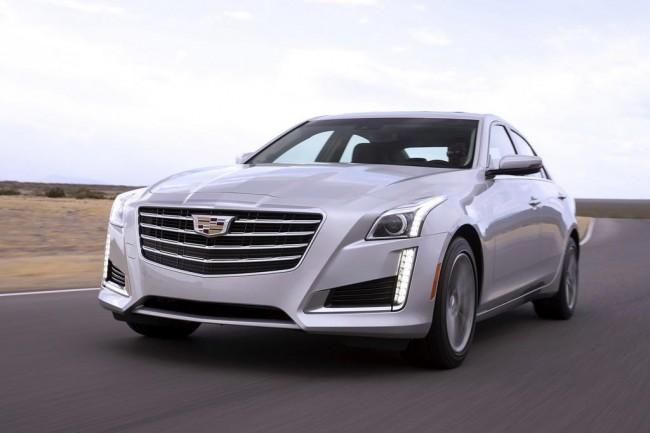 Обновленный Cadillac CTS 2017