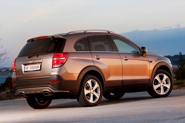 Рестиайлинг Chevrolet Captiva 2014