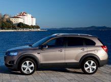 Новый Chevrolet Captiva 2014 года