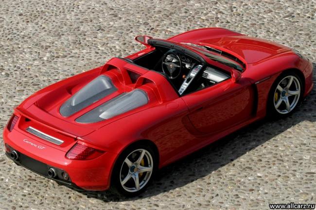 Porsche Carrera GT (980) фото