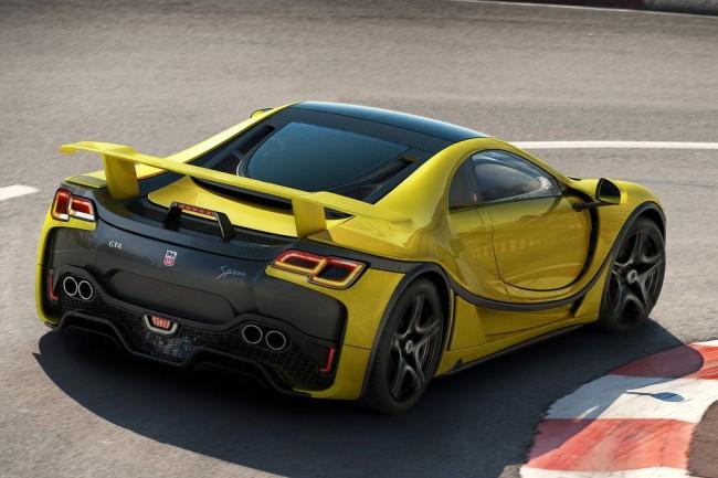 Новый Spano GTA 2016