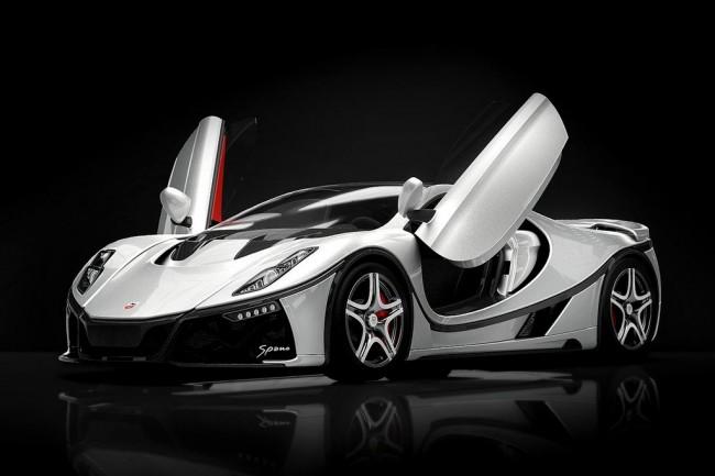 The new GTA Spano