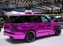 Диски на Range Rover 4 от Hamann