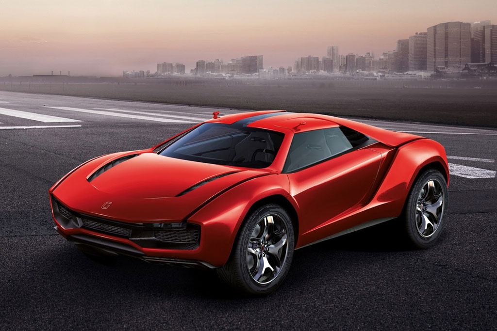 Фото Italdesign Parcour Coupe