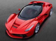 Новый Ferrari La Ferrari фото
