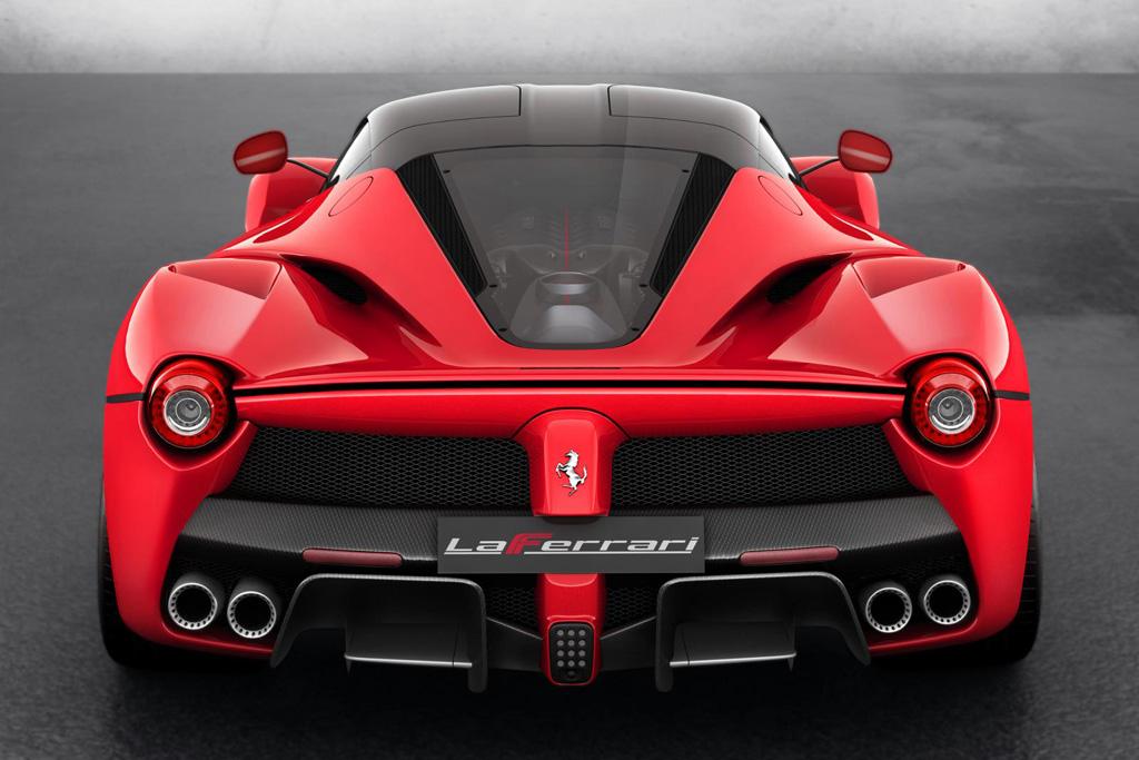 Суперкар La Ferrari фото