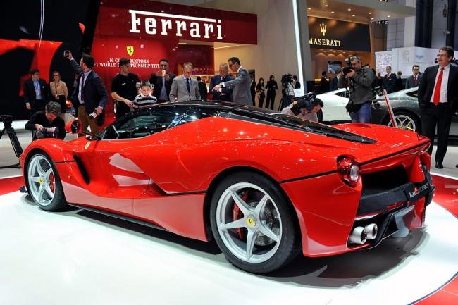 Фото нового La Ferrari