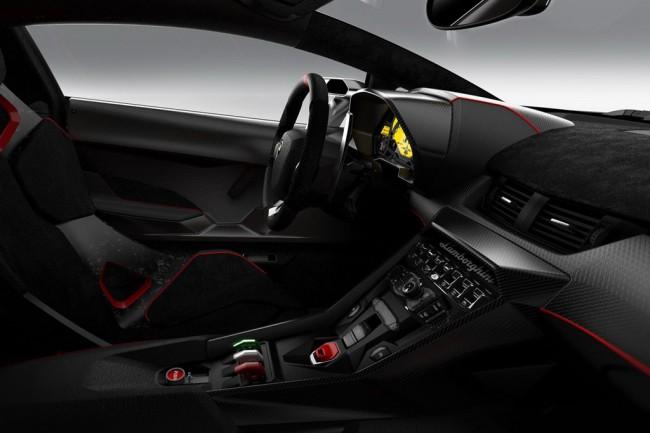 Фото салона Lamborghini Veneno