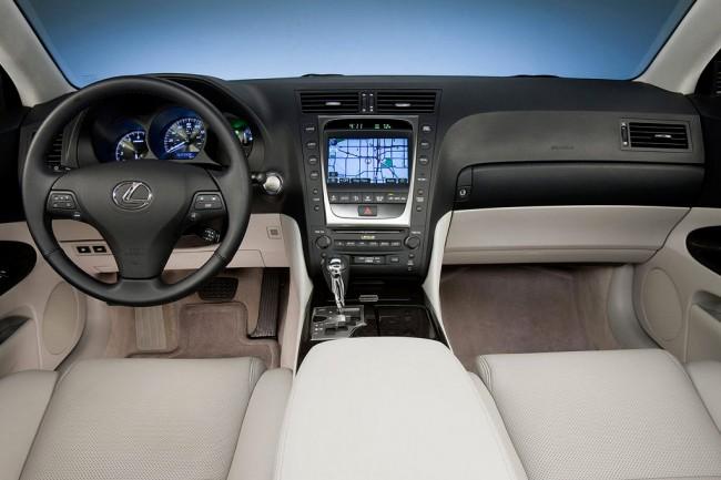 Фото салона Lexus GS 3