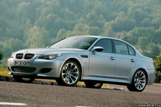 Фото седана BMW M5 E60
