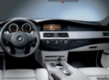 BMW M5 E60 салон