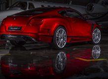 Фото Mansory Sanguis на базе Continental GT