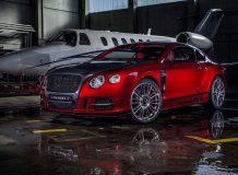 Mansory Bentley Continental GT Sanguis фото