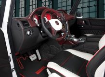 Тюнинг салона G500 Cabriolet от Mansory