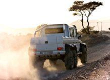Фото шестиколесного Мерседес G63 AMG
