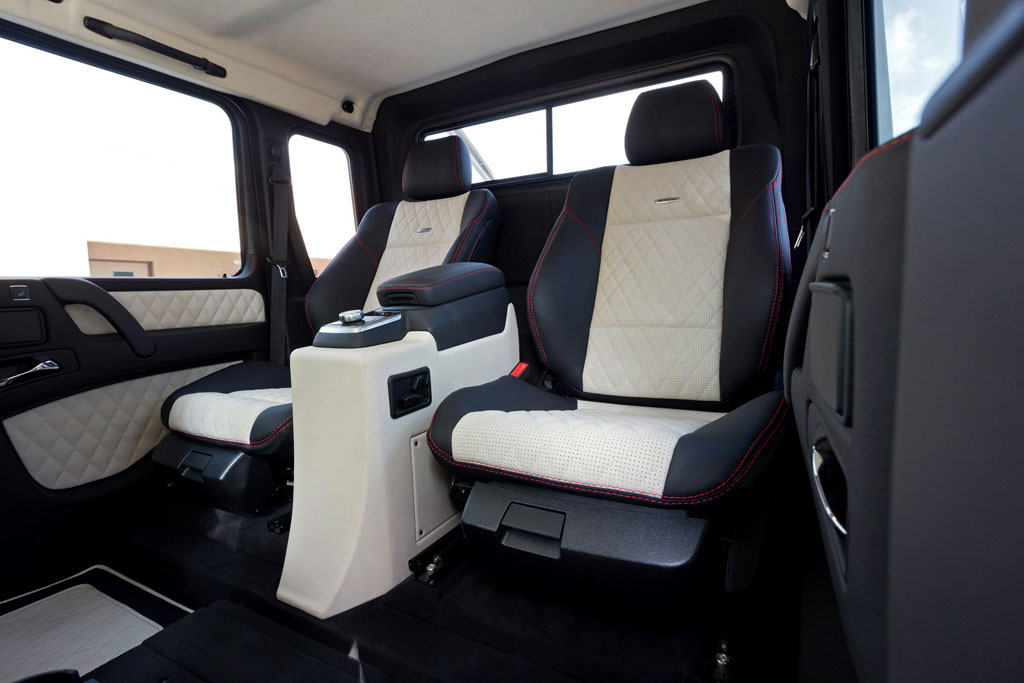 Интерьер Mercedes-Benz G63 AMG 6x6