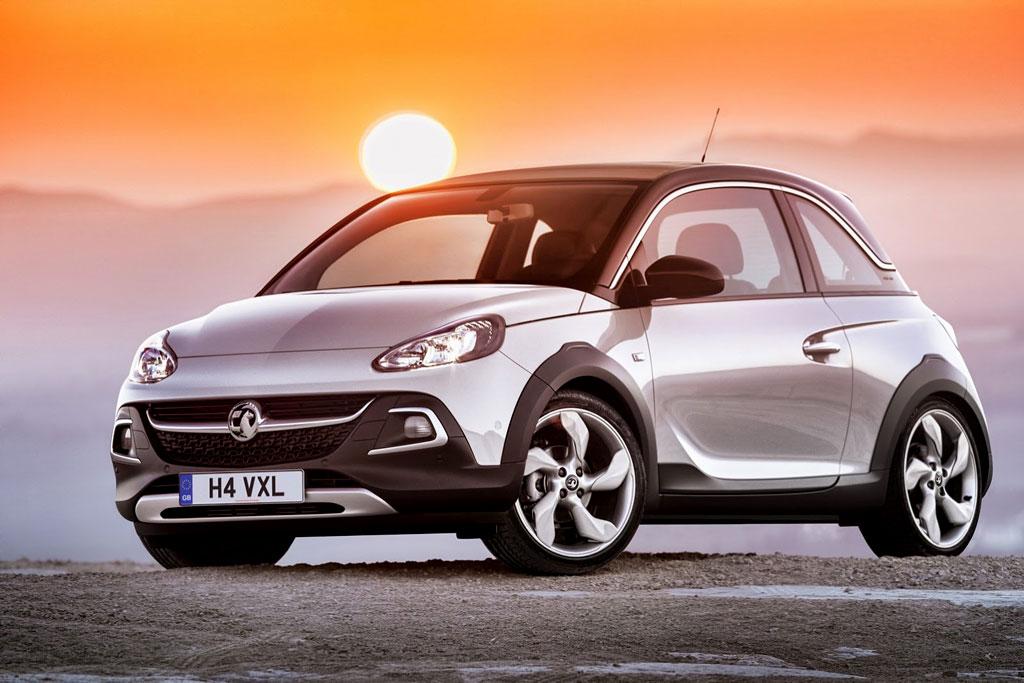 Opel Adam Rocks фото