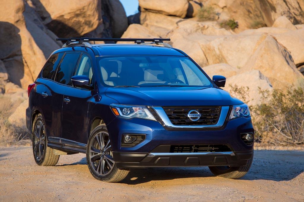 Обновленный Nissan Pathfinder 2017