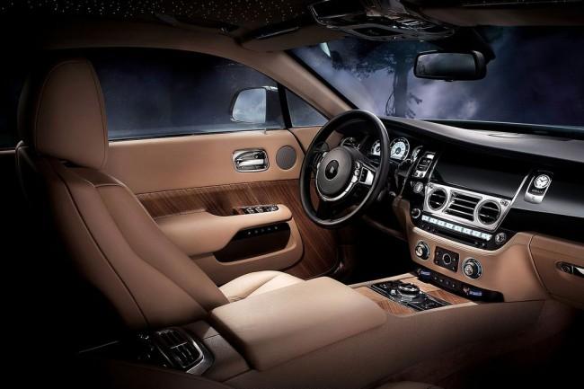 Фото салона Rolls-Royce Wraith