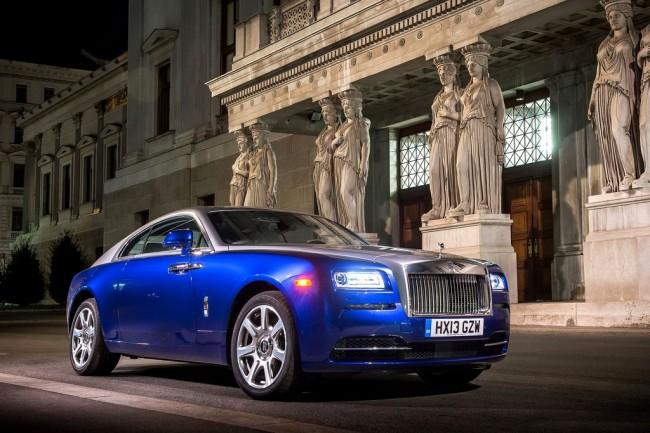 Фото купе Rolls-Royce Wraith 2014