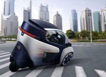 Фото Toyota i-ROAD Concept