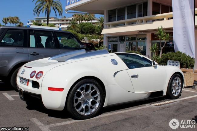 Bugatti Veyron Grand Sport фото