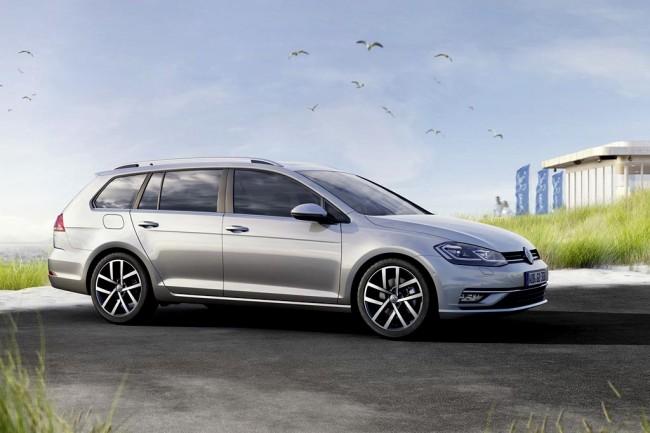 Обновленный Volkswagen Golf Variant 2017