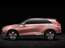 Фото концепта Acura SUV-X