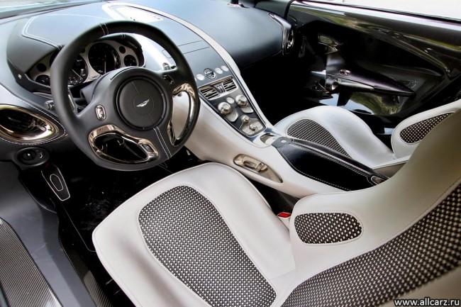 Фото салона Aston Martin One-77