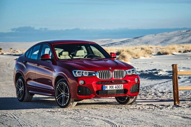 Новый кроссовер BMW X4 (F26)