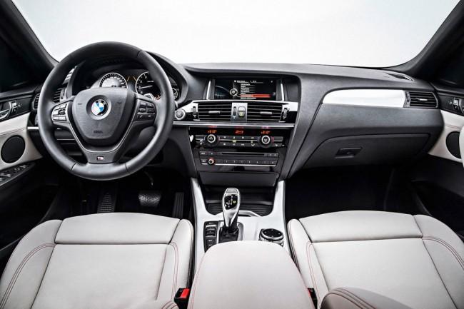 Салон BMW X4 (F26)