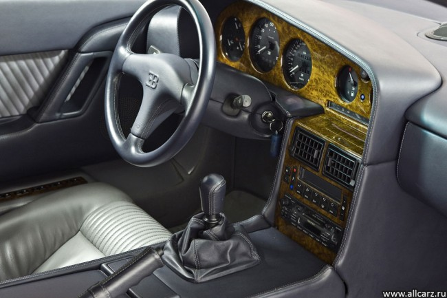 Фото салона Bugatti EB 110