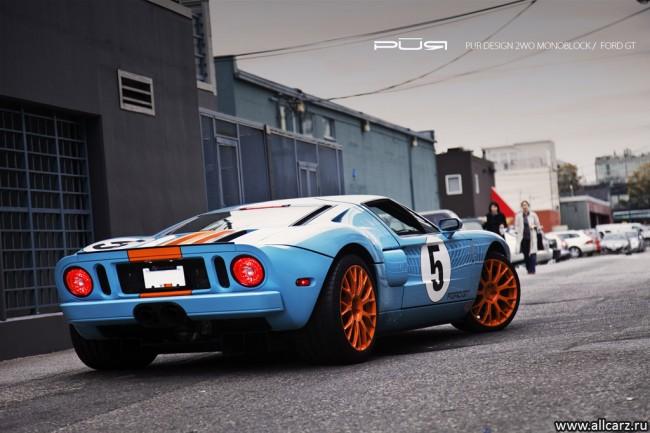 Новый Ford GT 2012