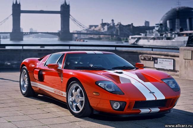 Фото суперкара Ford GT