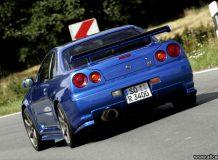 Ниссан Скайлайн GTR 34 фото