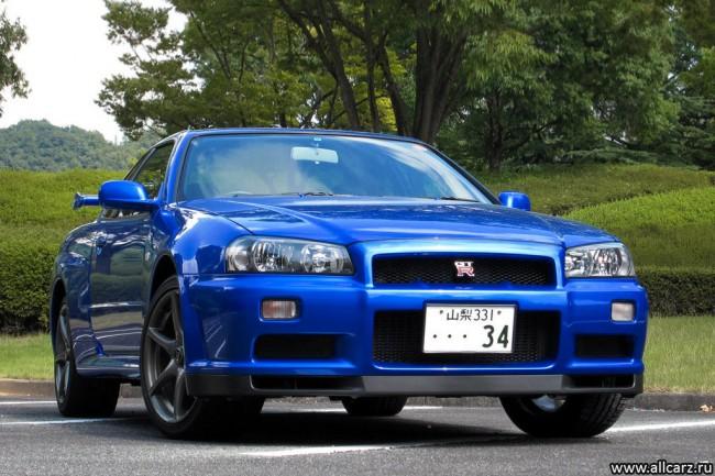 Фото Nissan Skyline GTR R34