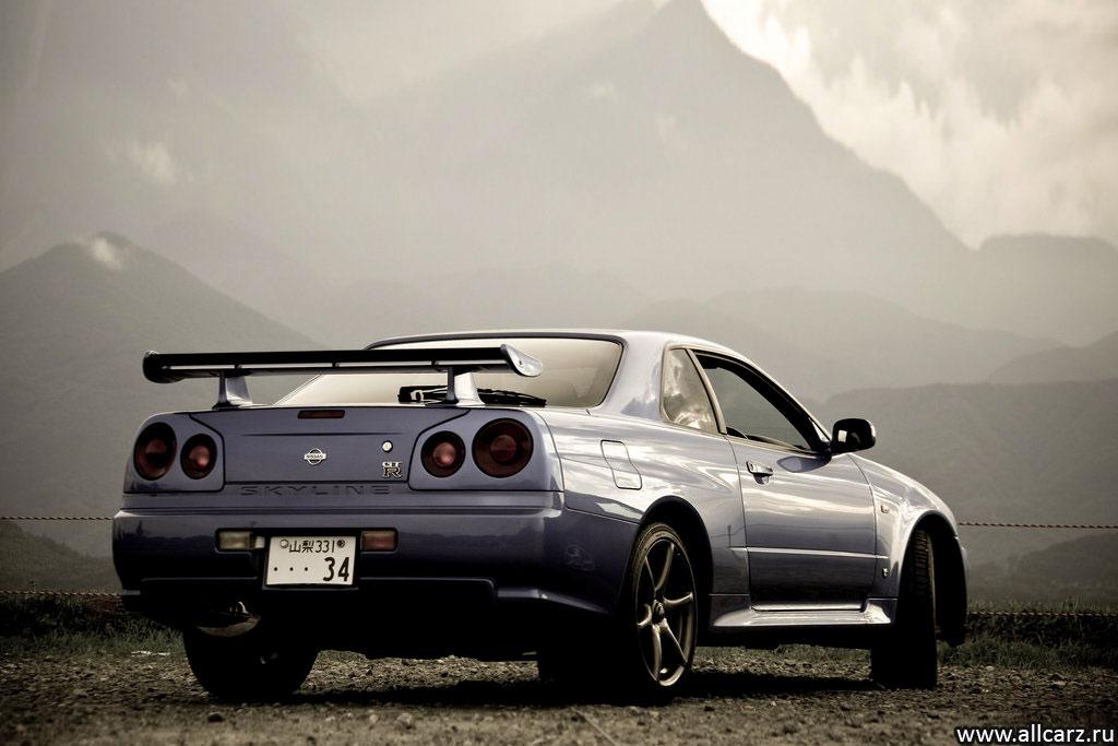 Ниссан Скайлайн GTR 34