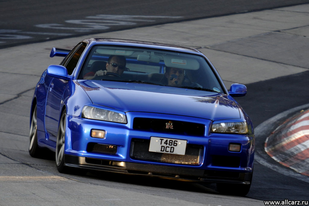 Nissan R 34 фото